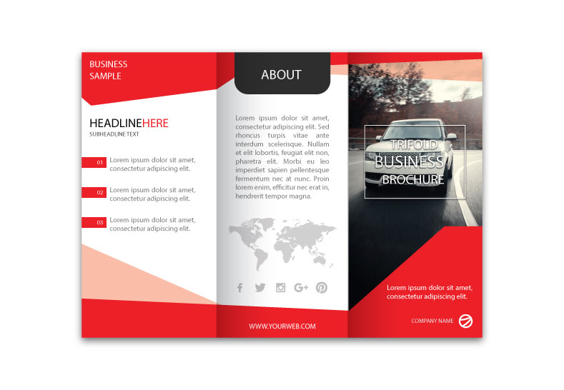 Conception de brochures