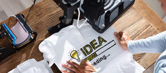 imprimer un t-shirt personnalisé